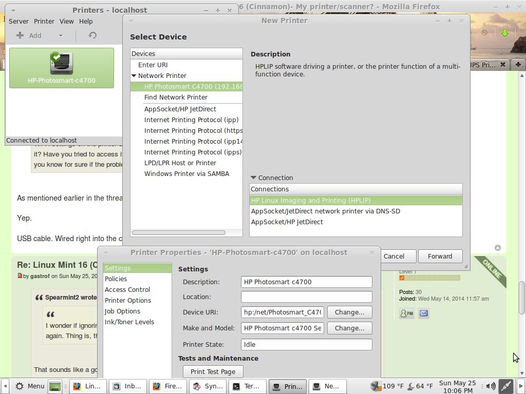 Linux Mint 16 (Cinnamon)- My printer/scanner? - Page 2